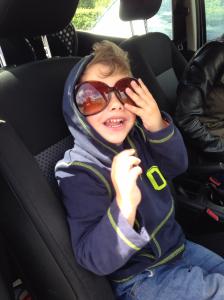 T sunglasses